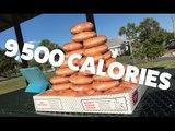 Competitive Eaters Scoffs 50 Krispy Kreme Donuts