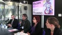 Présentation de l'exposition Picasso au MuCEM à Marseille