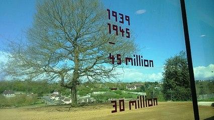 Premières images du Mémorial pour les victimes civiles de la guerre à Falaise
