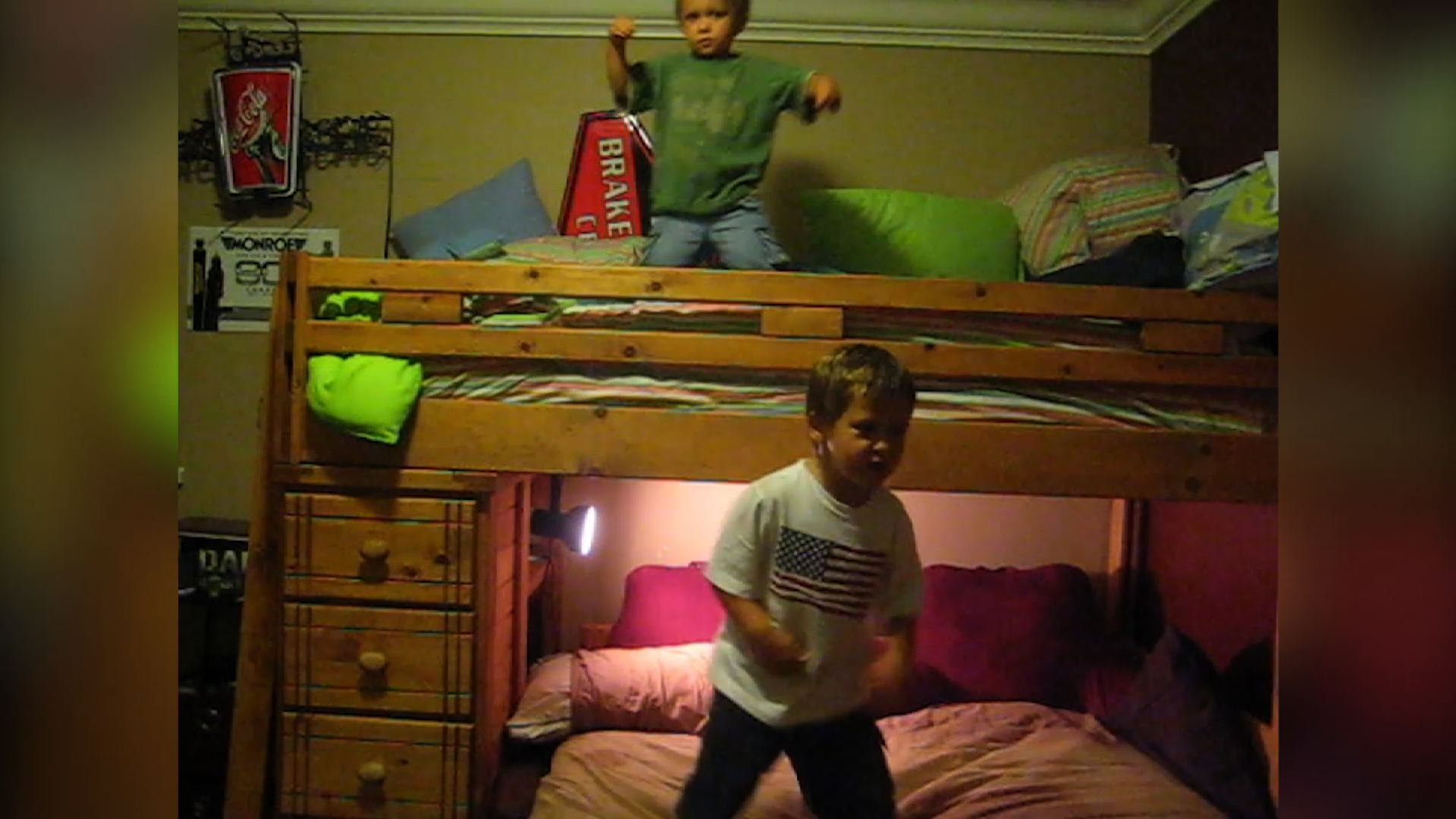 Cute Kids Rock Out To Rap Music