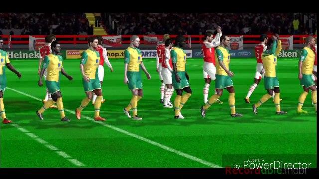 Arsenal  vs.  Norwich City  ( FTS 15 )  -  Premier league match day 27