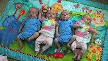 Elle accouche de quadruplés, quand le docteur regarde les bébés, il est sans mot!