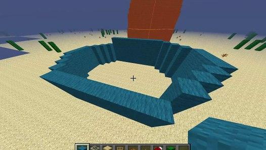 Town Squidwards House In Minecraft -spongbob