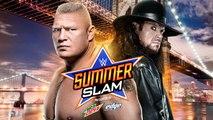 WWE SummerSlam 2015 - Brock Lesnar VS The Undertaker
