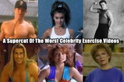 A Supercut Of The Worst Celebrity Workout Videos Ever