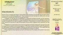 Simbahay | Nobyembre 27, 2014 | Huwebes sa Ika-34 na Linggo ng Karaniwang Panahon