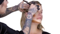 Kat Von D Makeup Advanced Contouring Full Face using The Shade Light Contour Collection