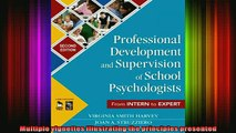 READ book  Professional Development and Supervision of School Psychologists From Intern to Expert Full Free