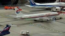 20 Minutes of Plane Spotting @ Worlds largest model airport   Miniatur Wunderland Hamburg