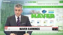 Naver Q1 net profit up 22.7 pct. in Q1 2016