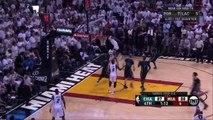 Dwyane Wade's Chasedown Block _ Hornets vs Heat _ Game 5 _ April 27, 2016 _ NBA Playoffs