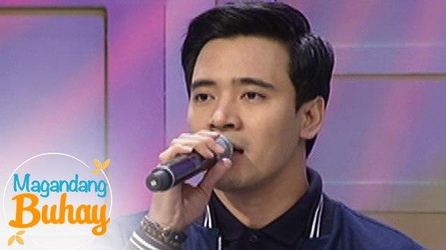 "Magandang Buhay: Erik Santos sings ""The Climb"""