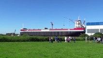 Spectacular ship launching of ROERBORG @ Ferus Smit shipyard Leer