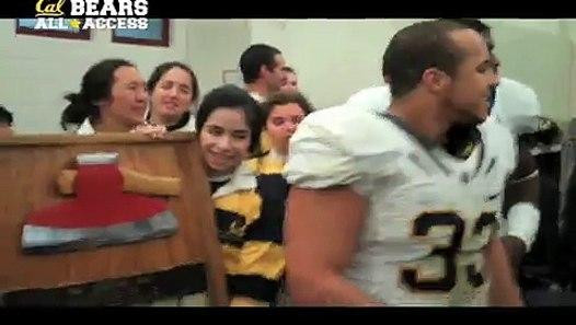 Cal Football 112th Big Game Locker Room Celebration