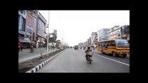 kathmandu road expansion 2015. Maitighar Tinkune 8 lane road , Kathmandu