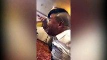 WATCH: Man drinks beer through his nostrils in bizarre stunt