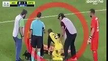Hahahahah...... injured Players Vs Stretchers