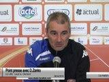 (J36) Laval - Clermont, avant-match avec D.Zanko