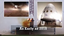 SpaceX Plans Mars Missions As Soon As 2018