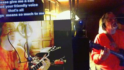 Call Me (live vocal-guitar) by UR S MAN with Lyrics