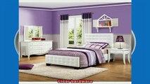 special produk Homelegance Sparkle 4 Piece Upholstered Bedroom Set In White BiCast Vinyl