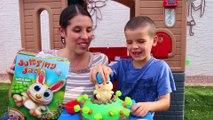 Kids Challenge JUMPING JACK Pop Bunny Rabbit Family Fun Kids Board Game Disney Zootopia Toys