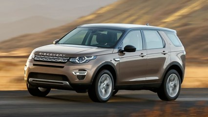 2017 Land Rover Discovery Sport Unveiled