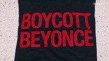 'Boycott Beyonce' T-Shirts on Sale at Beyonce Concert