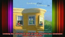 READ book  Looking Out Looking In with CDROM and InfoTrac Available Titles CengageNOW Full Free
