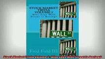 READ book  Stock Market Trivia Volume 2 Who Says Wall Street is Boring Online Free