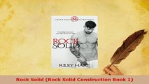 Download  Rock Solid Rock Solid Construction Book 1 Free Books