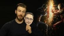 """Captain America Civil War : Chris Evans """"Robert Downey Jr et moi sommes d'excellents amis dans la vie"""" (INTERVIEW VIDÉO)"""