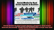 FREE DOWNLOAD  Social Media For Real Estate Agents  Realtors Real Estate Internet Marketing Using  BOOK ONLINE