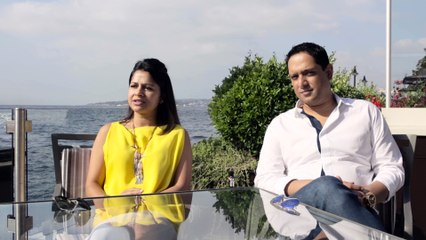 Nadia and Rajeeb Samdani