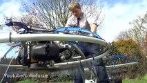 Hoverbike : il se fabrique une moto volante