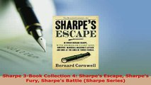 Download  Sharpe 3Book Collection 4 Sharpes Escape Sharpes Fury Sharpes Battle Sharpe Series  EBook
