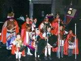 Semana Santa en La Puebla de Castro. Procesión del Viernes Santo. Año 1996.