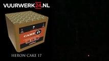 Knalkoning Oss Vuurwerk Heron Cake 17