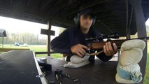 another day at scotia range with browning 270 glock 17 and ruger sr22