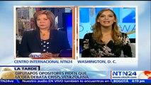 """Almagro está """"muy claro"""" de las bondades de la Carta Interamericana Democrática: Williams Dávila a NTN24"""