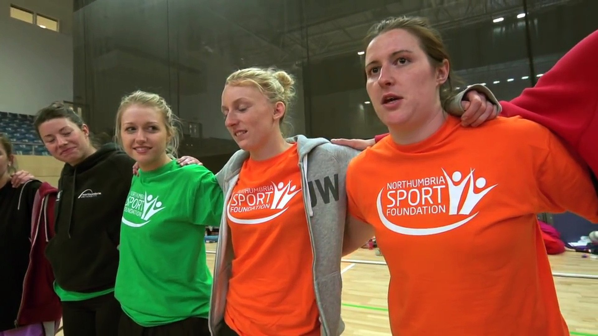 Northumbria Sport Foundation 24 Hour Netball