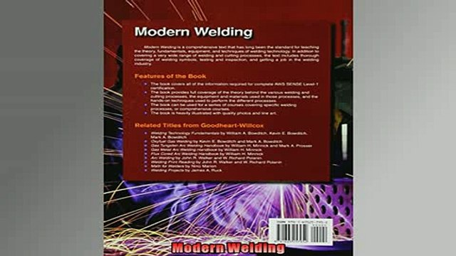 READ THE NEW BOOK   Modern Welding  FREE BOOOK ONLINE