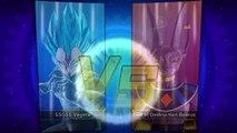 DRAGON BALL XENOVERSE - SSGSS Vegeta vs. God Of Destruction Beerus