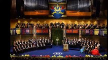 Swedish and Norwegian royal families have attended the Nobel prize ceremonies in Oslo and