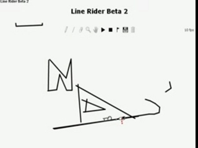 404 - Page Not Found (line rider) by raphy