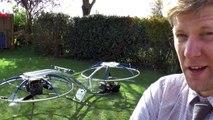 Un inventeur fabrique une moto volante, surnommée hoverbike