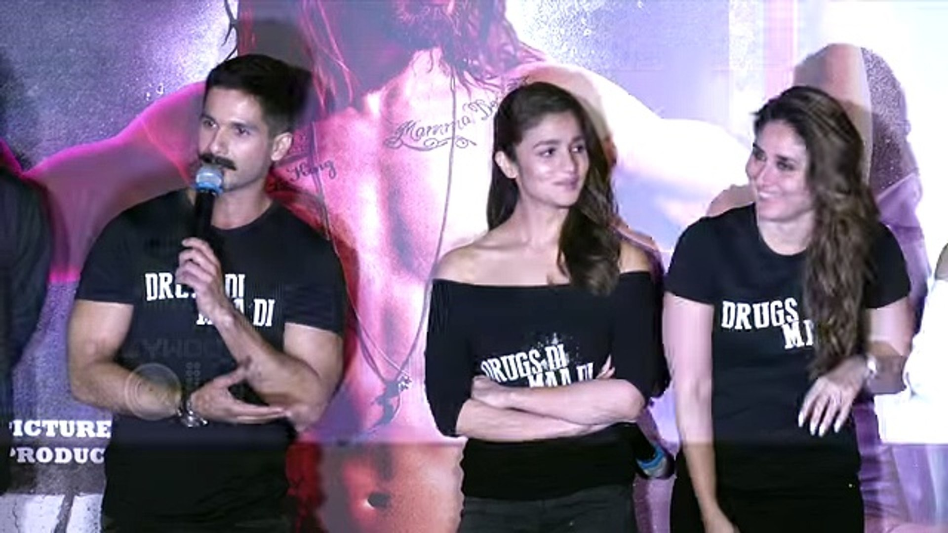 Kareena Kapoor Shahid Kapoor IGNORE Each Other Udta Punjab Trailer Launch  top songs 2016 best songs