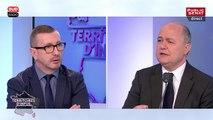 """Bruno Le Roux: """"Je ne suis pas inquiets des manifestations mais des casseurs"""""""