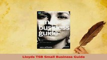 Download  Lloyds TSB Small Business Guide PDF Free
