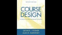 Course Design A Guide to Curriculum Development for Teachers 7th Edition